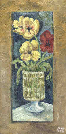 Image_Flowers in Vase 16x8