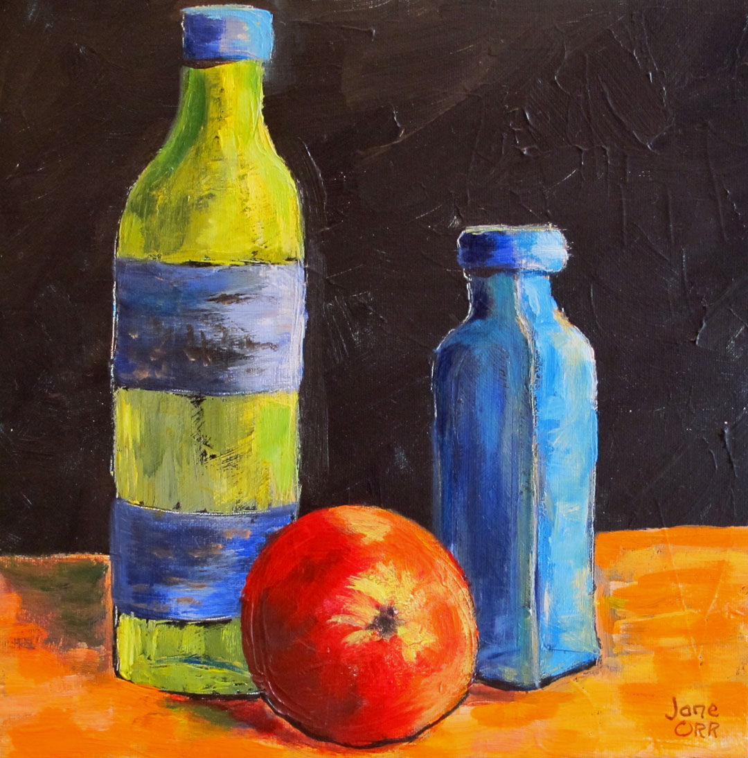 image=bottles and apple